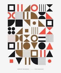 Minimalist Graphic Design Best 25 Geometric Poster Ideas On Pinterest Geometric Graphic