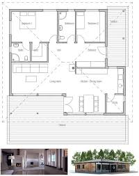 house plans with big bedrooms small house with two bedrooms open planning big windows covered