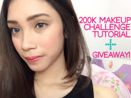 Challenge Tutorial 200k Makeup Challenge Tutorial In Bahasa Stefanytalita