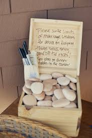 wishing stones wedding 6 wedding guest book ideas hizon s catering