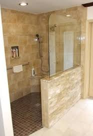No Shower Door Planning For Elderly Days No Step Into The Shower Use
