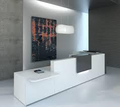 L Reception Desk L Shape Countertop Reception Desk White Anthracite Buy