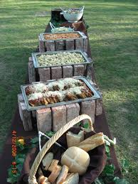 if you u0027re looking for a rustic wedding idea for your buffet think