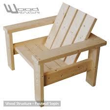 chaise jardin bois plan chaise de jardin en bois newsindo co