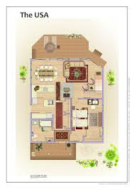 the usa eco friendly prefab affordable home kits with open plan