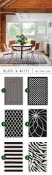 Black And White Rugs 25 Best White Rug Ideas On Pinterest Ikea Leather Sofa Bedroom