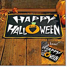 halloween doormat with sound halloween at hnhco enterprises llc