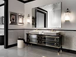 sumptuous home grey bathroom modern deco featuring charming