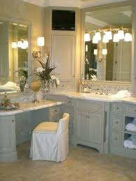 sweetlooking corner bathroom vanity set like corner shelf makeup