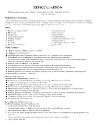 Day Care Teacher Job Description For Resume by Rebecca Barrow Social Work Resume Final