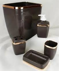 brown bathroom accessories wwwimgarcadecom online for the