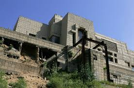 Ennis House Floor Plan by Top Fallingwater Frank Lloyd Wright Panorama Idolza