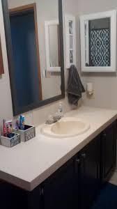 Mobile Home Bathroom Makeovers - our mobile home bathroom makeover on a budget intobaby com