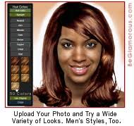 hair color simulator virtual hairstyles for african americans