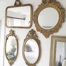 Decorative Mirrors For Bathrooms by Best 20 Gold Mirrors Ideas On Pinterest Mirror Wall Collage