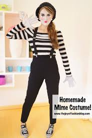 easy mime halloween costume great last minute costume idea