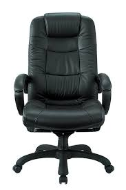 Real Leather Office Chair Executive High Back Chair Real Leather Nicer Interior