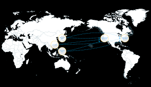 Map Snap Asia by Marine Transportation Fuel Management Solutions And More