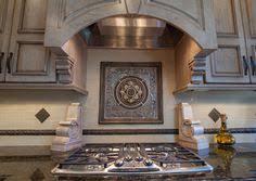 Tile Medallion Backsplash by Montrachet Medallion Sonoma Tilemakers Kitchen Wall At Cooktop