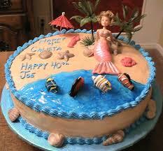 beach cake decorating ideas birthday cake designs cake