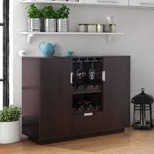 furniture of america sivira modern espresso multi storage dining