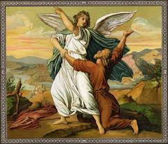 who was the angel who guided moses during the exodus