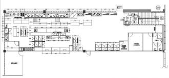 kitchen layout restaurant plain layouts in decorating june fine