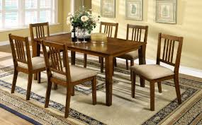 Oak Dining Room Table Chairs Oak Dining Table Set Amazon Com