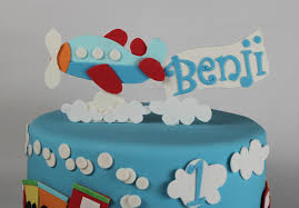 airplane cake topper airplane fondant cake topper lil miss cakes