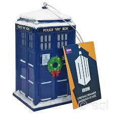 doctor who tardis kurt adler 4 5 inch mold snow wreath chri