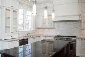 white kitchen cabinets with backsplash white kitchen cabinets with gray granite countertops grey granite