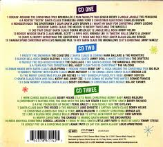 rockin around the christmas tree 3 cd new best of rock n roll
