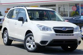 subaru forester 2017 white 2017 subaru forester white crystal constant variable 2 383km qld