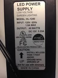intellibrite landscape lights amazon com landscape path lights led power pack 40 watts output