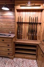 best 25 gun rooms ideas on pinterest gun safe room gun vault custom gun room made from reclaimed wood pikeroadmillwork com