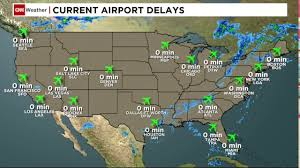 Airport Map Usa by Cnn Airport Usa Weather Youtube