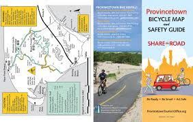 Map Of Cape Cod Massachusetts by Provincetown Cape Cod Ma 02657 New Provincetown Bicycle Map