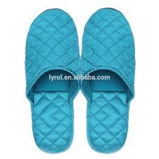cheap wholesale house slippers for women quilted silk upper women