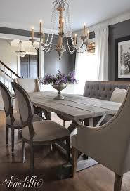 Home Design Grey Dining Room Furniture Distressed Dining Room - Grey dining room sets
