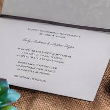 Wedding Invite Card Stock Laser Cut Wedding Invitations Cards Brown Engagement Floral For