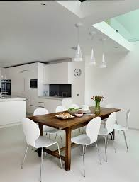 black table white chairs dark table white chairs dining room contemporary with matt lacquer