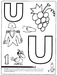 imagenes q inicien con la letra u perfecto letra u hoja para colorear ornamento dibujos para