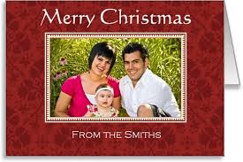 photo frame cards free photo insert christmas cards to print at home