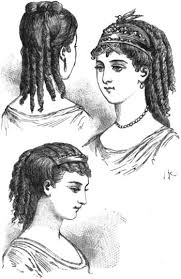 hair style of 1800 108 best old time hairstyles images on pinterest victorian