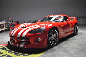 Dodge Viper Race Car - dodge viper custom stripe kit car wrap city