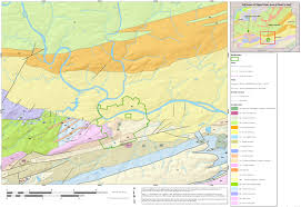 Washington State Geologic Map by Valley Forge Maps Npmaps Com Just Free Maps Period
