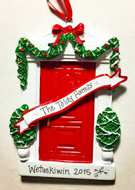 door personalized ornament new home ornament