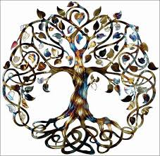 wall ideas design stunning this celtic tree of wall