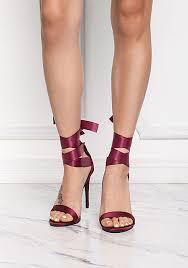 ribbon heels heels shoes