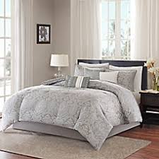 Madison Park Laurel Comforter Image Of Madison Park Averly 7 Piece Comforter Set In Grey